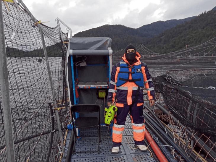 Proveedor ROV de Aysén desarrolla innovadora costuración de redes loberas