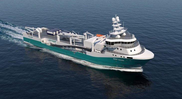 Mercado boyante: llegarán a Chile dos nuevos wellboat de gran capacidad