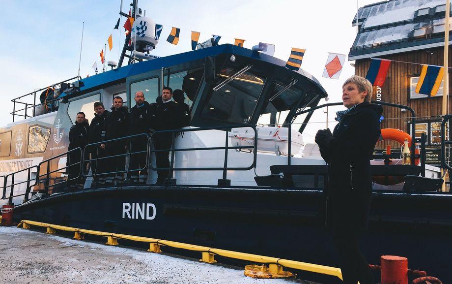 Fiskeridirektoratets nye båt