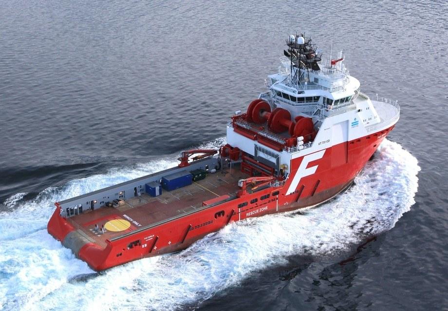 Illustrasjonsfoto, AHTS-skipet
