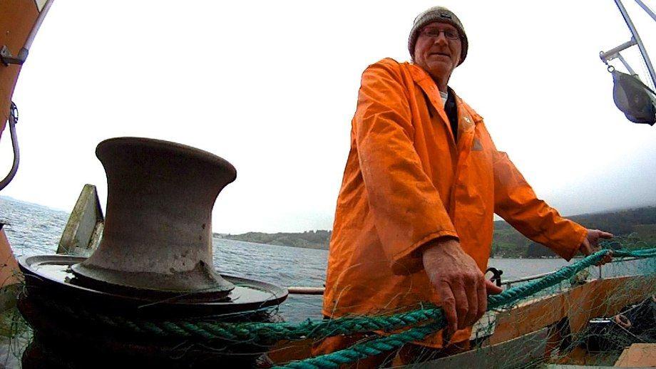 Fiskere er en risikoutsatt yrkesgruppe. (Foto: Svein Morten Hagen fra filmen