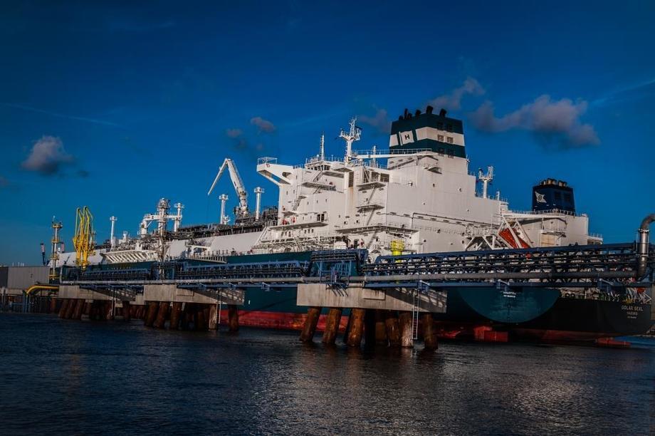 Klaipedos-terminalen i Litauen. Foto: Copyright Klaipedos Nafta