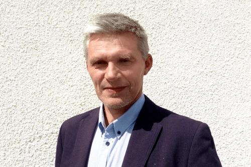 Arnstein Andreassen begynner i ny jobb hos PBES. Foto: PBES