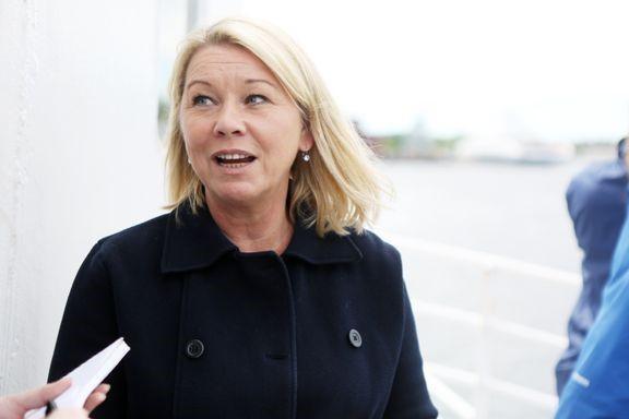Næringsminister Monica Mæland. Foto: NFD/Håkon Jacobsen.