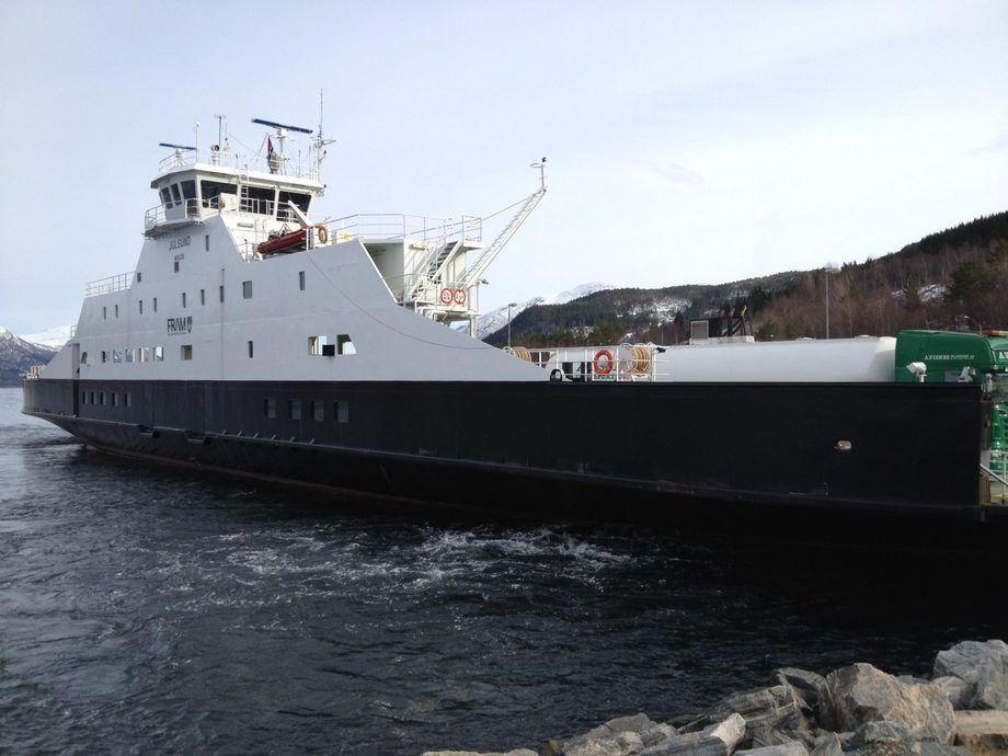 Møre og Romsdal fylkeskommune har ute anbodskonkurranse for dei fire fylkesvegferjesambanda på Nordmøre, den såkalla Nordmørspakka. Foto: Møre og Romsdal fylkeskommune