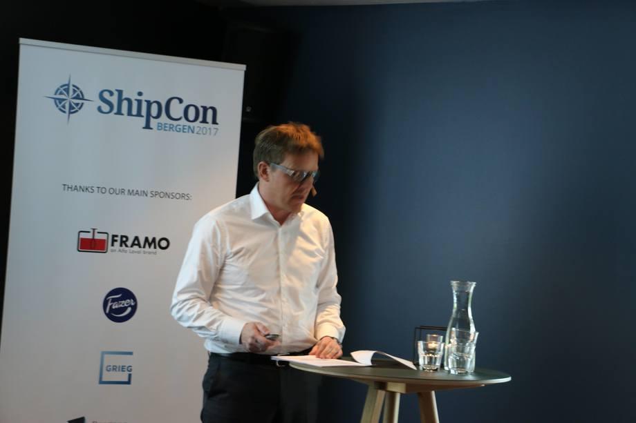 Kristian Mørch, CEO i Odfjell SE og styreleder i Odfjell Terminals B.V. Foto: Vibeke Blich