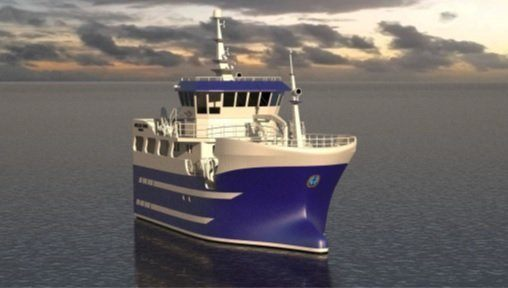 Byggingen av hybrid-fiskebåten