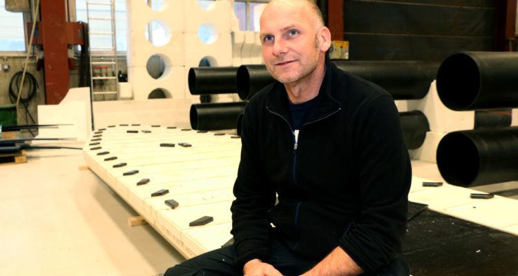 Teknisk tegner, Roger Ulriksen. Foto: AKVAgroup.