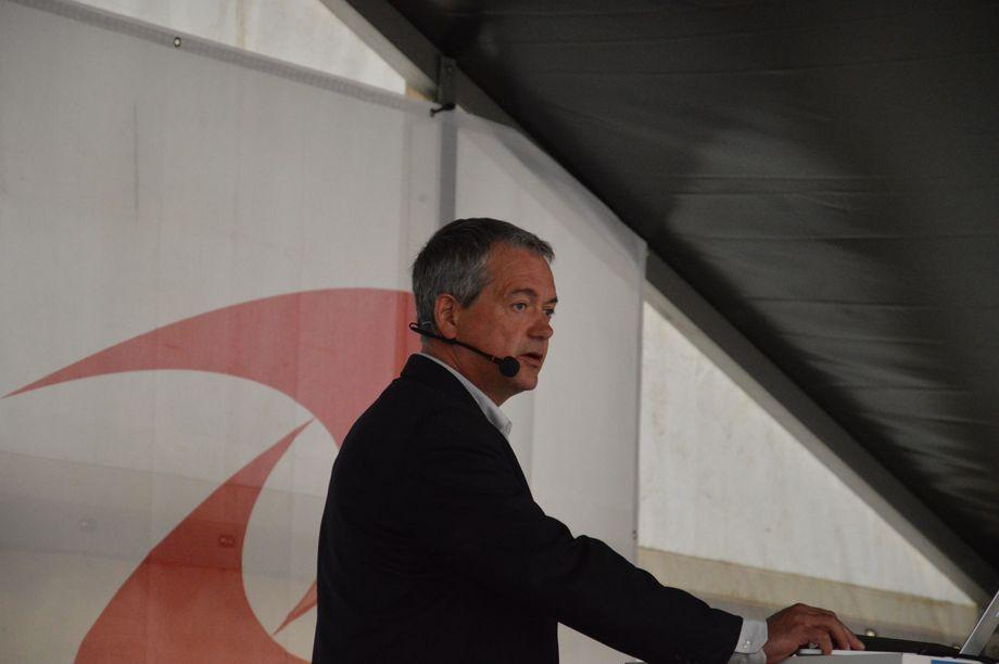 Mikal Eines, styreleder for Namgam. Foto: Magnus Petersen.