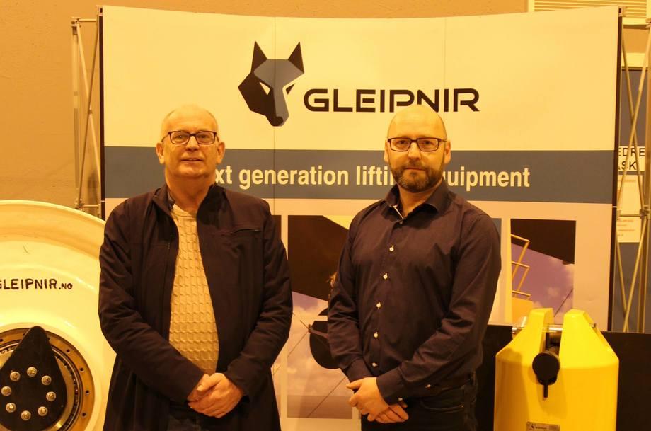 Fra venstre: Karl Johan Jentoft og Jon Arne Valen