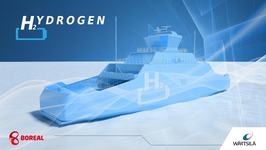 Illustrasjon: Wärtsilä Ship Design