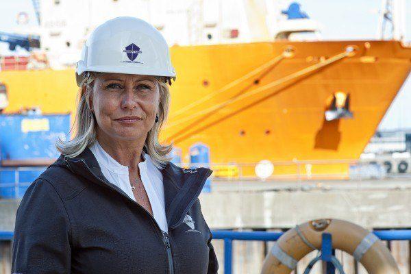 Direktøren ved verftet Orskov Yard i Fredrikshavn hevder norsk proteksjonisme var med på å redusere inntektene Foto: Orskov Yard