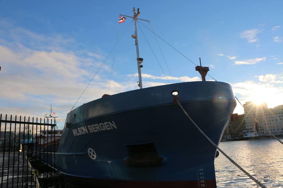 Wilson Bergen er et av skipene som tidligere levert av det samme verftet.