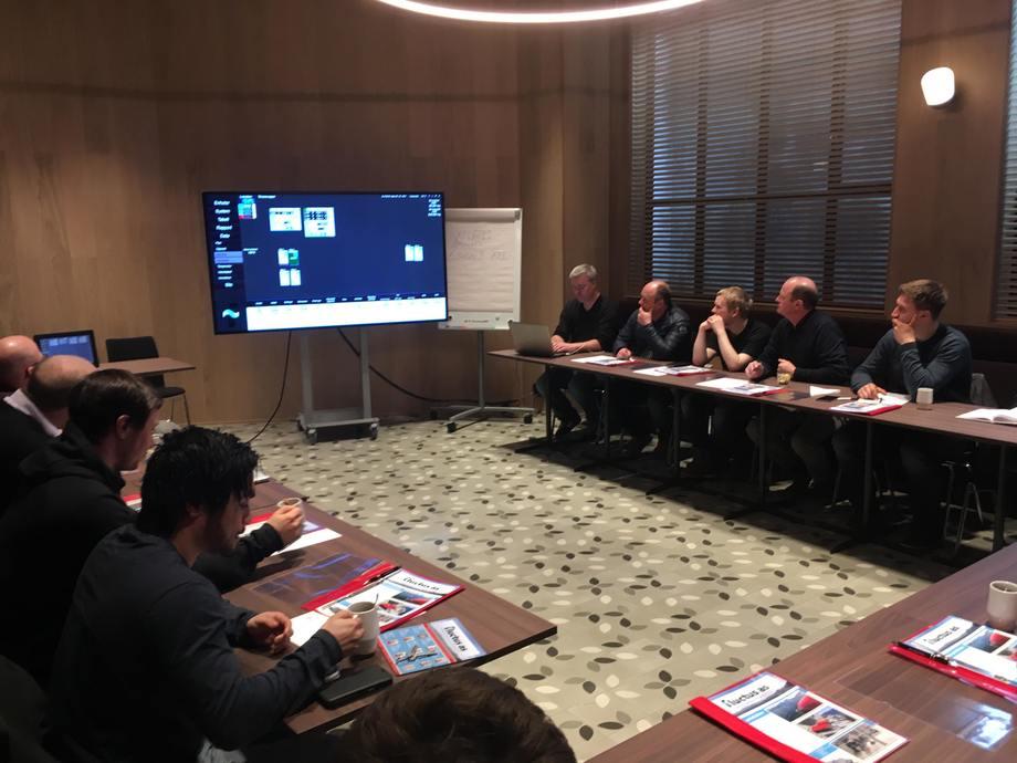Fluctus arrangerer blant annet brukersamlinger med kunder, for å dele erfaringer. Foto: Fluctus.