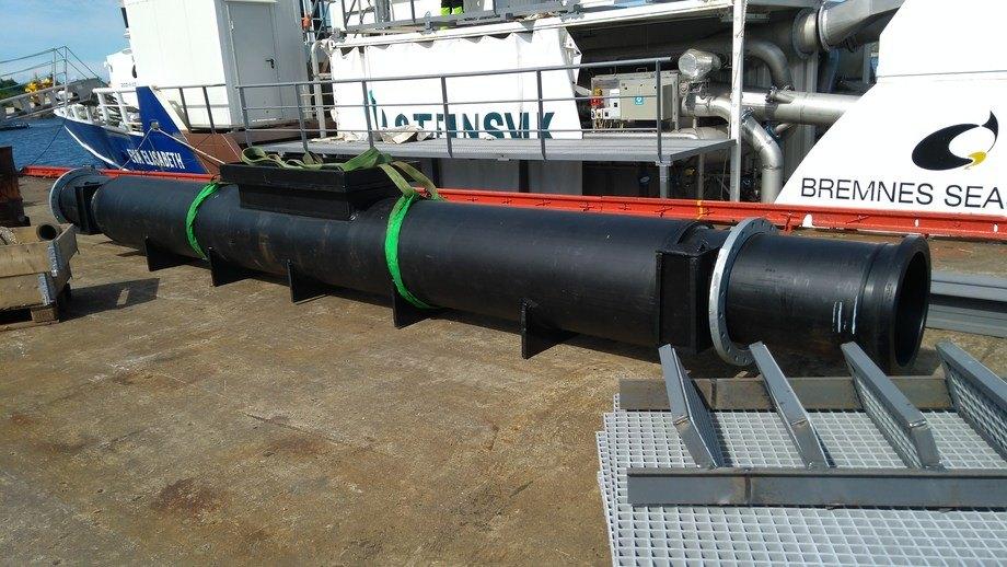 Elektrofilteret levert til Bremnes Seashore på Bømlo. Foto: Askvik Aqua.