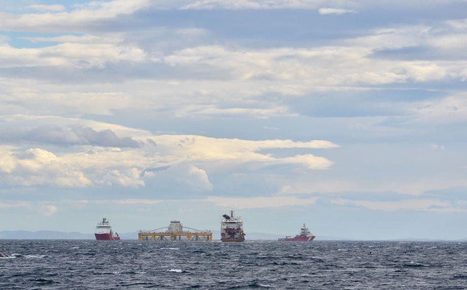 Havmerden sett fra Sørburøy. Foto: Kyst.no