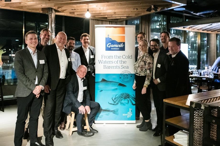 Formannskapet i Gamvik kommune var tydelig stolte av den nye merkevaren til Norwegian Fish Company som har fått navnet
