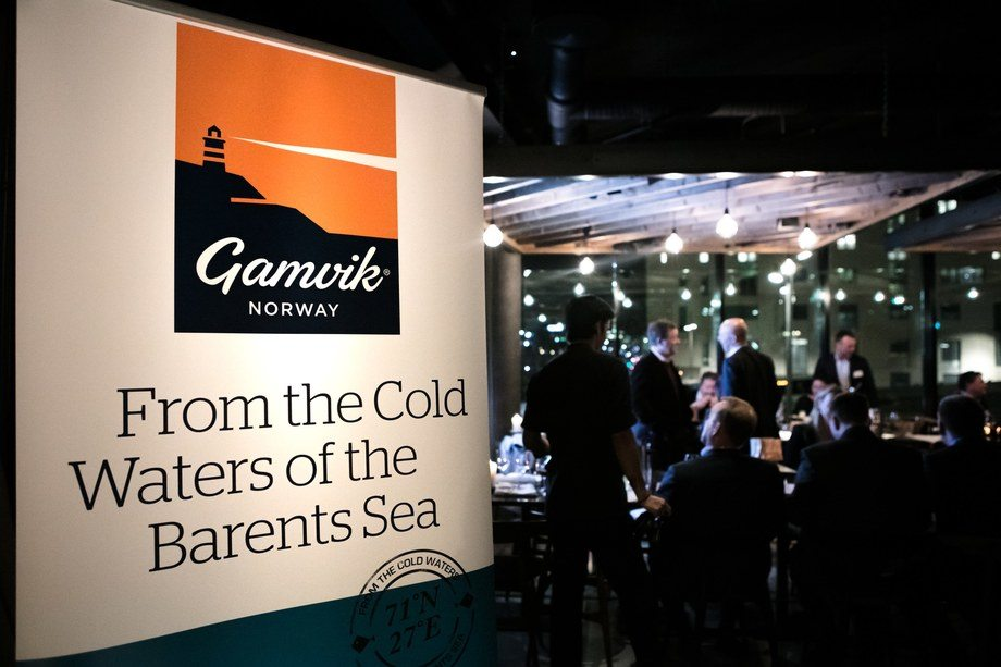 Norwegian Fish Company lanserte nylig sin merkevare Gamvik i Oslo. Foto: Norwegian Fish Company.