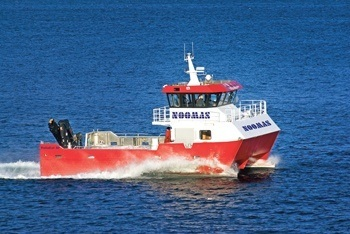 Fosnakallen etter den var nybygget i 2007. Foto: Folla Maritime AS