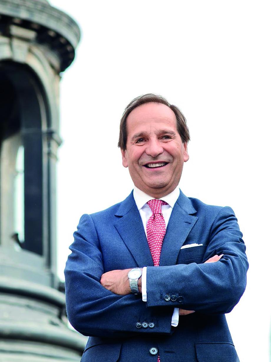 Juan Andrés Camus, presidente de la Bolsa de Comercio de Santiago. Imagen: Jonathan Garcés, Salmonexpert.