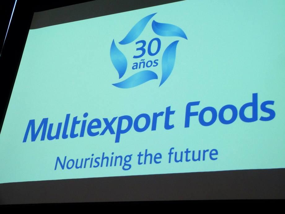 Imagen referencial de Multiexport Foods. Foto: Loreto Appel, Salmonexpert.