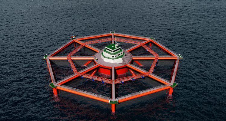 The Smart Fish Farm will be even bigger than Ocean Farm 1 and will accommodate three million salmon.