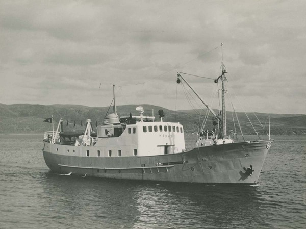 «Gamle Mårøy» slik den så ut på 60-tallet Foto: Kystmuseet