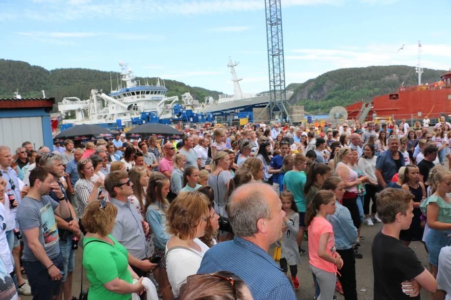 Over 900 gjester overvar feiringen. Foto: Sigbjørn Larsen.