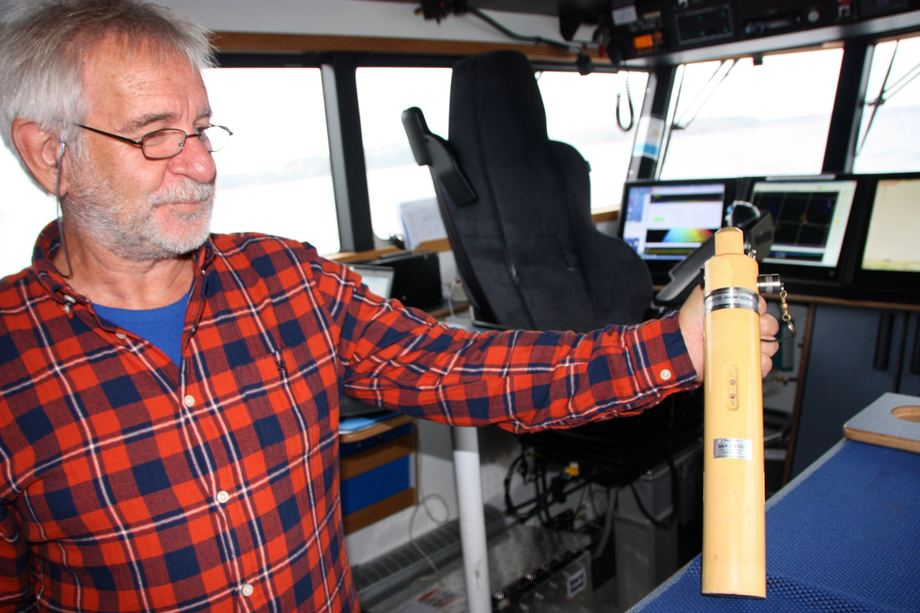 <p>Hver nye måling som gjøres begynner med en lydprofil. Foto: Andrea Bærland</p>
