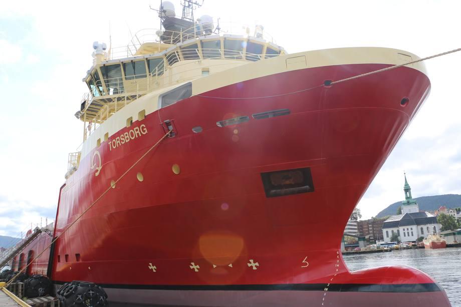 <p>Torsborg er en del av Skansi Offshore-flåten</p>