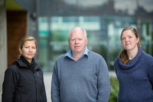 Lakselussenteret (SLRC) blir ledet av professor Frank Nilsen ved Institutt for Biologi. Foto: UiB.