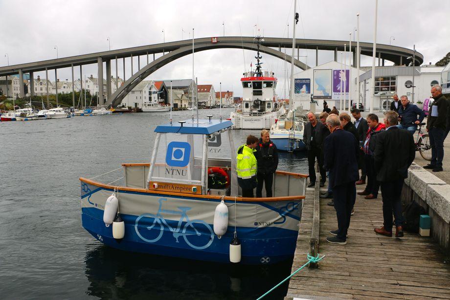 «milliAmpere» var et populært innslag under Sjøsikkerhetskonferansen. Foto: Andrea Bærland