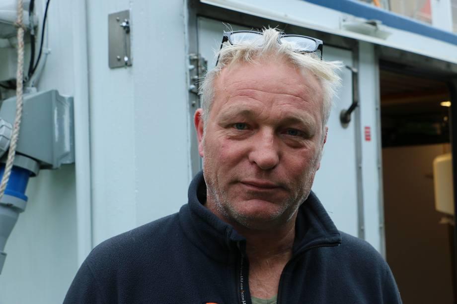 <p>Bjørn Frode Grønnevik er båtfører om bord på MS «Hans Brattström».</p>