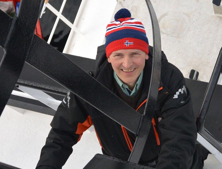 Knut Frode Eide vart bare 59 år, men fekk utretta svært mykje på sine år som oppdrettar og leiar av Eide Fjordbruk. Foto: Eide Fjordbruk.