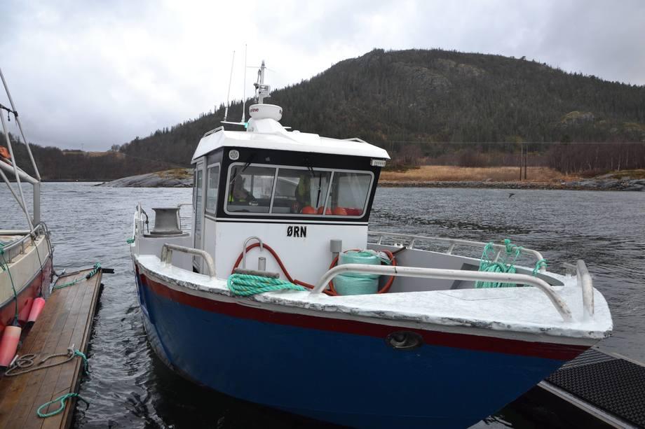 <p>En av lokalitetsbåtene. Foto: Ole Andreas Drønen</p>