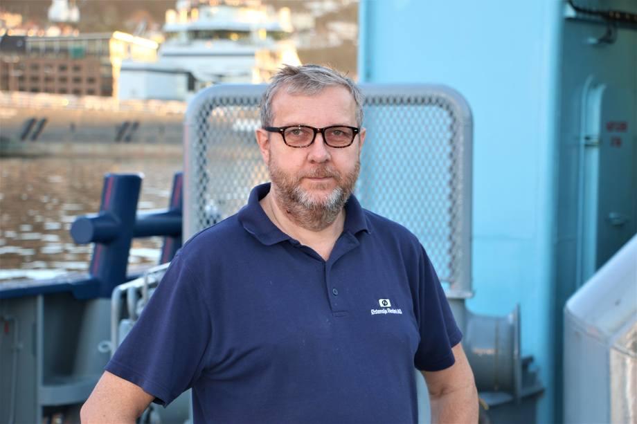 <p>Stein Sørensen, maskinsjef</p>