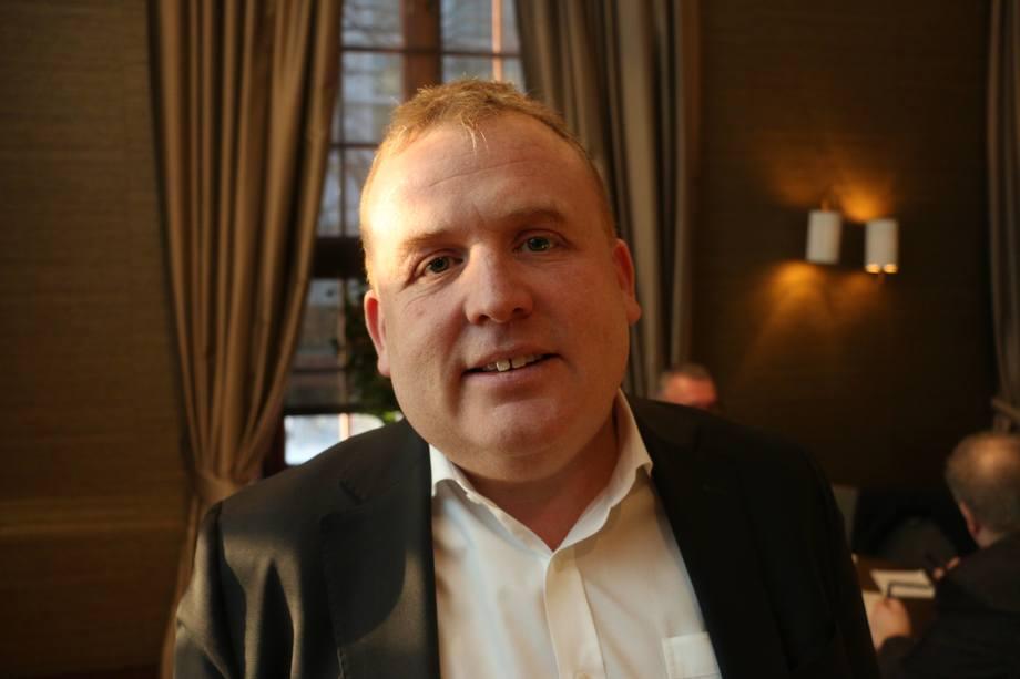 <p>Geir Bjørkeli, CEO Corvus Energy snakket omBatteri: Alene og som hybridløsning. Foto: Vibeke Blich</p>