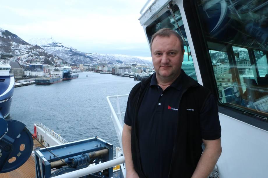 <p>Kaptein Svein Wefring.</p>