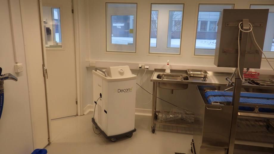 Fra lab-en til Nofima der de har testet ut teknologien. Foto: Nofima.