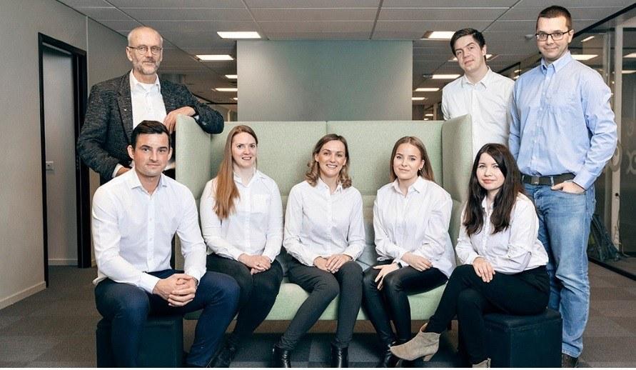 Konsulentteamet i AKVA group Software består nå av åtte ansatte. Foto: AKVA group.