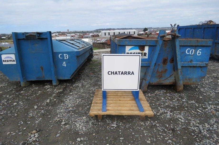<p>Unidad de almacenamiento de chatarra para reciclaje.</p>