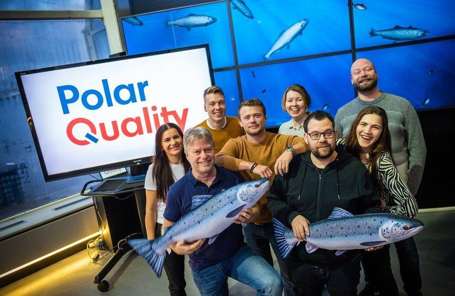 Polar Quality teamet. Foto: Baard Selfors.