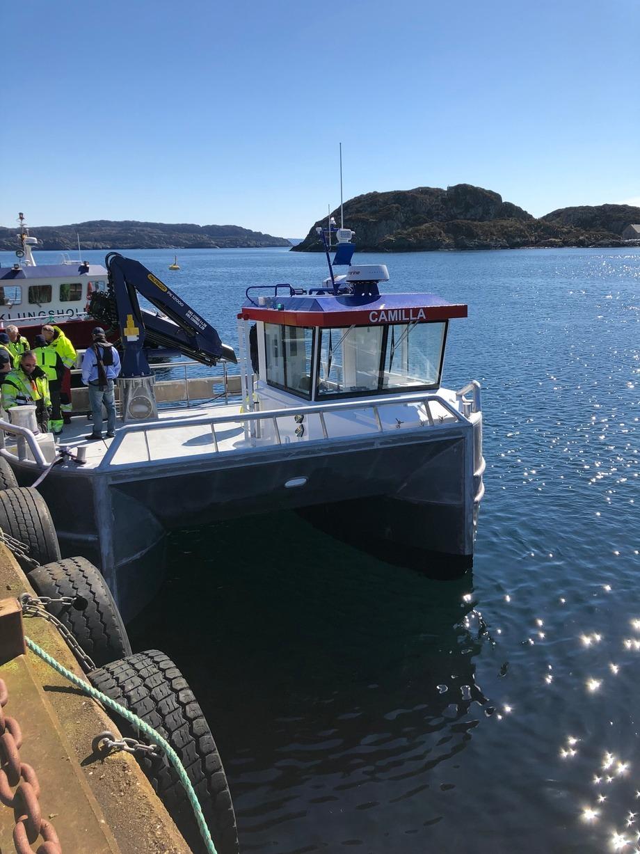 <p>Båten har en kapasitet på dekkslast på tre tonn. Foto: NRS Farming</p>