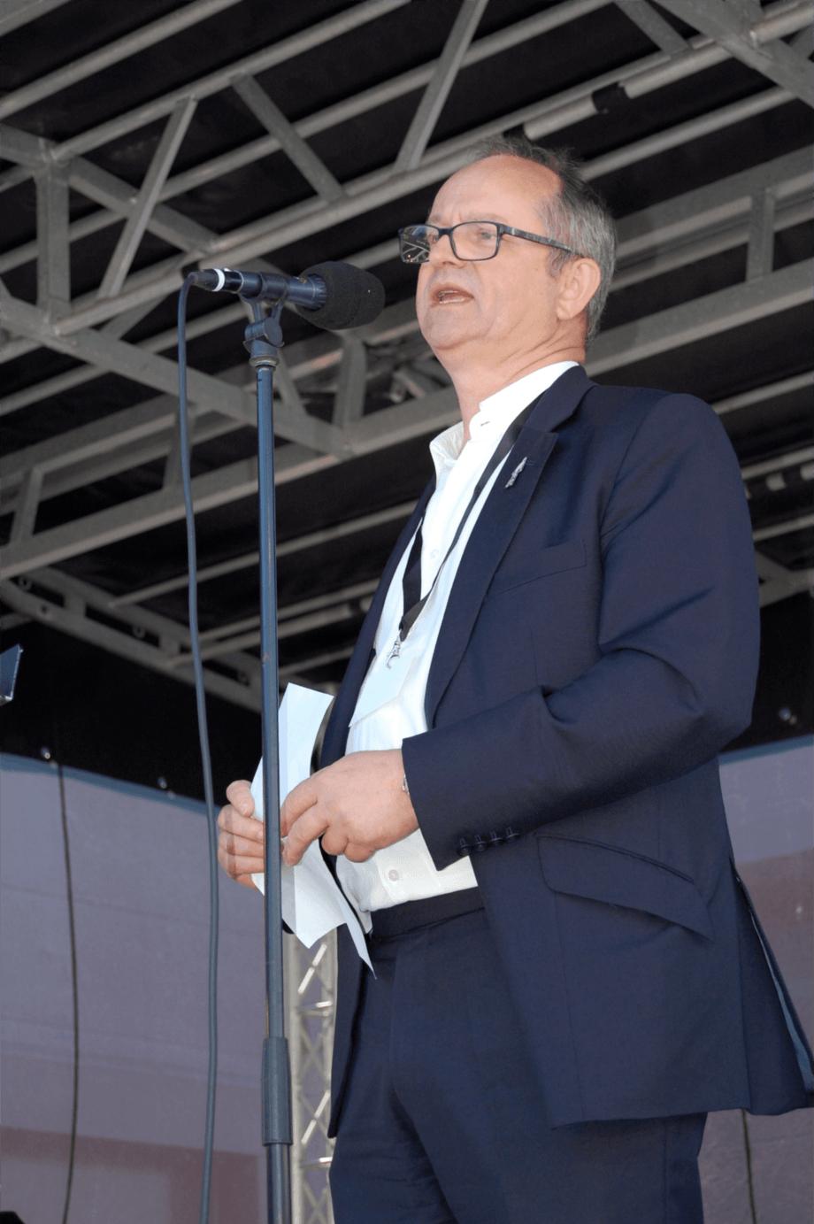 <p>CEO Malcom Pye i Benchmark plc. Foto: Harrieth Lundberg</p>