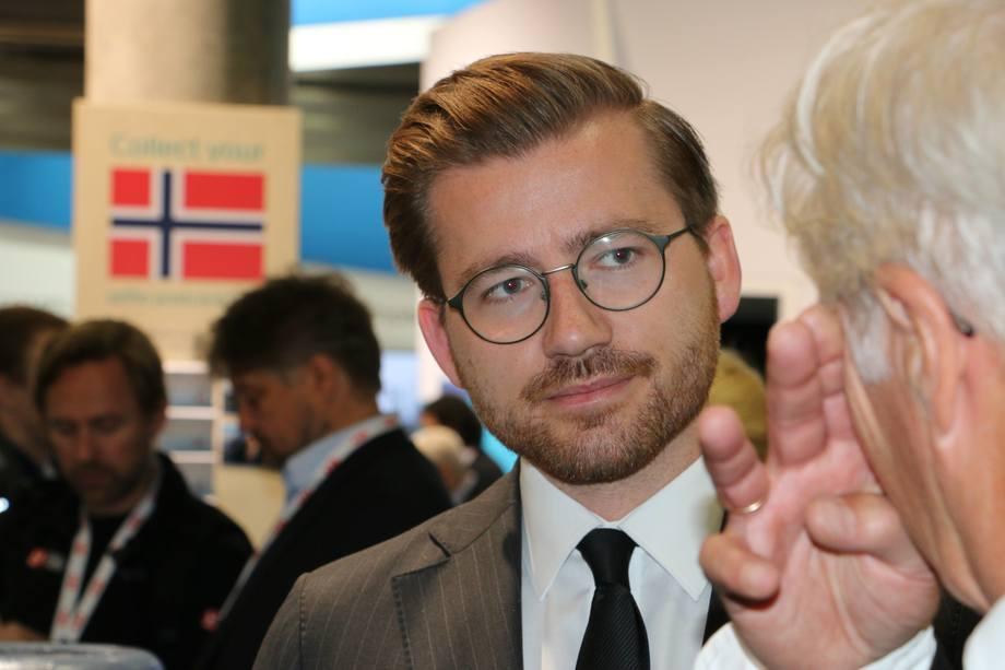 <p>Årets prisutdeler: Statssekretær Klima- og Miljødepartementet, Sveinung Rotevatn (V)</p>