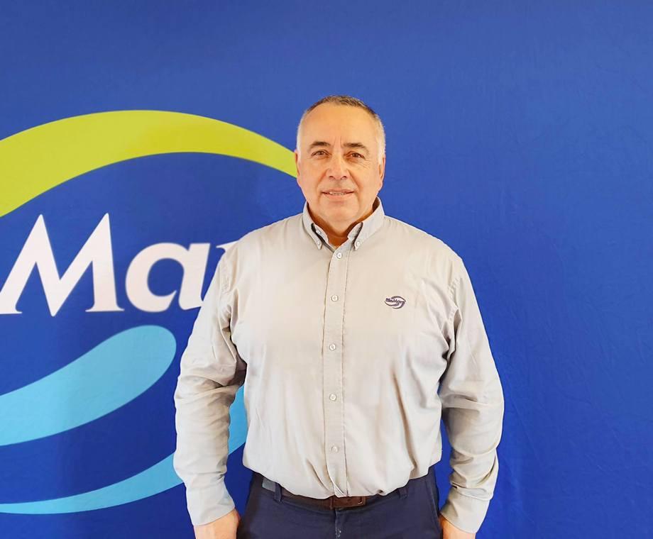 <p>Victor Vidal,asistente técnico FW de BioMar. Foto: Salmonexpert.</p>