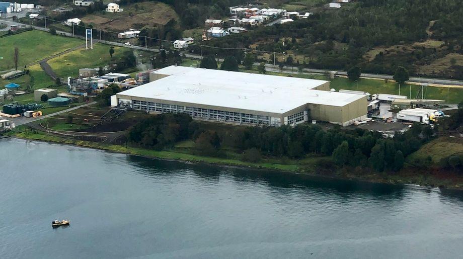 AquaChiles utvidede produksjonsanlegg dekker 8000 kvadratmeter og håndterer halvparten av firmaets produksjon. Foto: AquaChile.