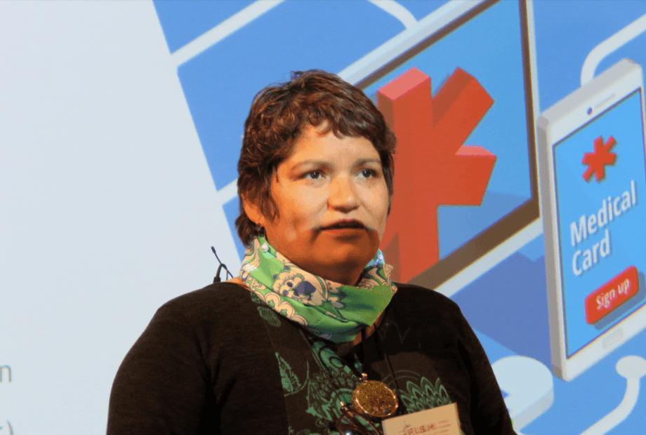 <p>Carol Hullin. Foto: Salmonexpert.</p>