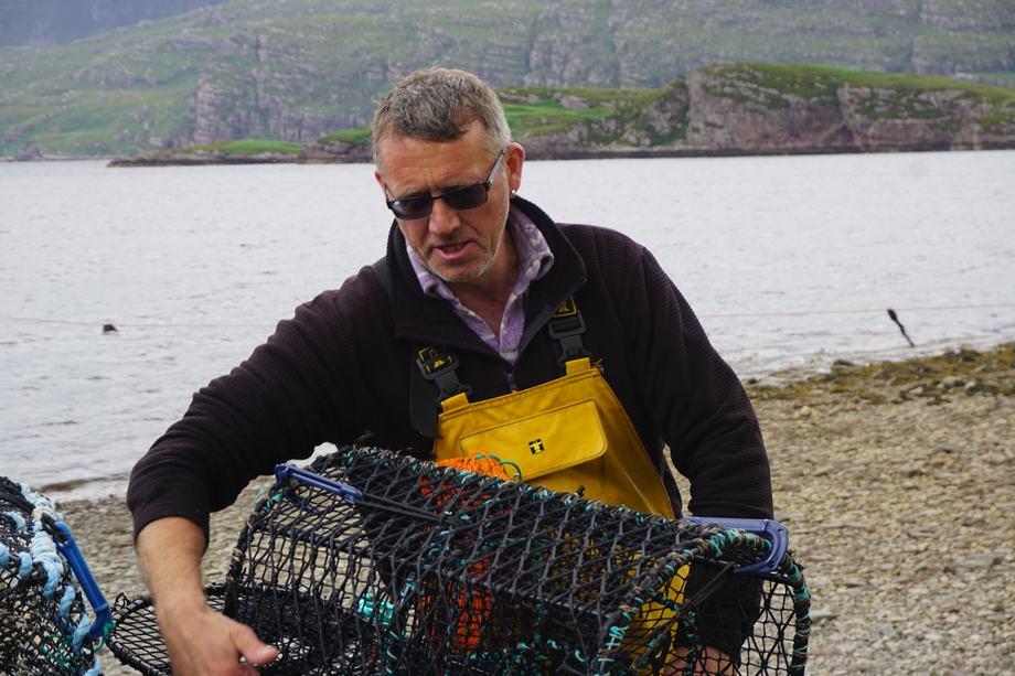 Wrasse fisherman Mark MacLeod:
