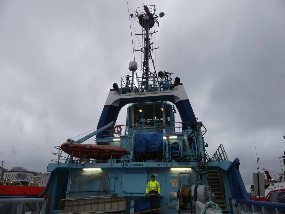 <p>Båten er bygd i 1994 ved Simek AS verft i Flekkefjord. Foto: Margarita Savinova.</p>